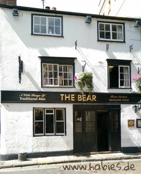 The Bear Inn - der älteste Pub der Stadt