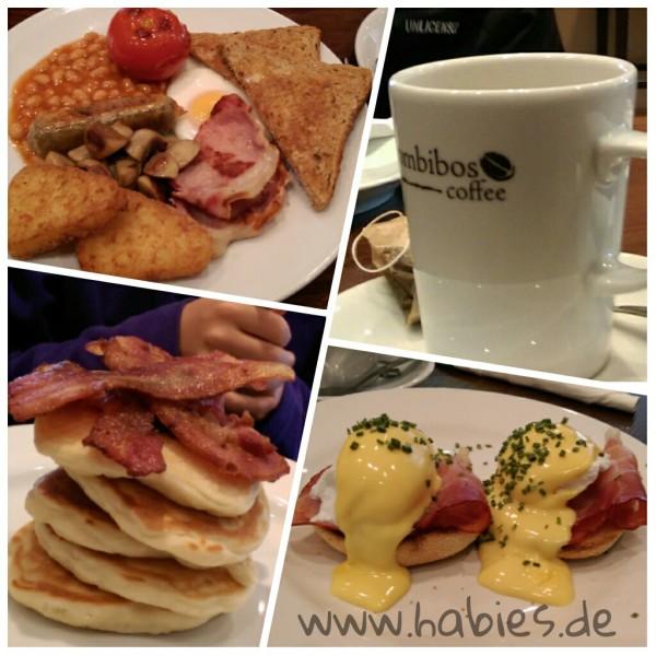 Frühstück bei Combibos.